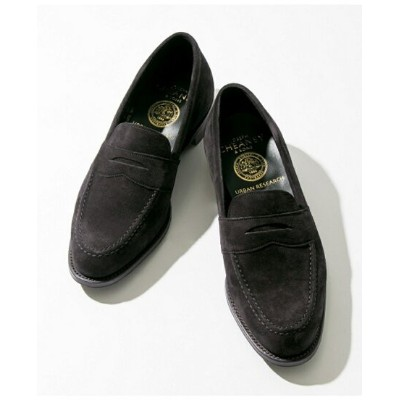 【SALE/50%OFF】URBAN RESEARCH JOSEPH CHEANEY×URBAN RESEARCH 別注SUEDE LOAFER アーバンリサーチ シューズ シューズその他 ブラック...