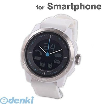 CONNECTEDEVICE [4562187616352] Bluetooth SMART対応アナログ腕時計 COOKOO2 ホワイト