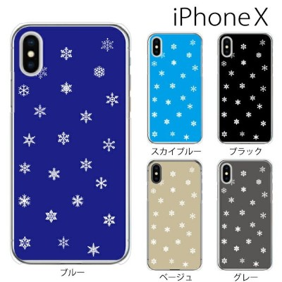 iPhone X / iPhone8 / iPhone8 Plus ケース ハード スノウクリスタル 雪の結晶 TYPE2 iPhone7 iPhone SE iPhone6s iPhone5s...