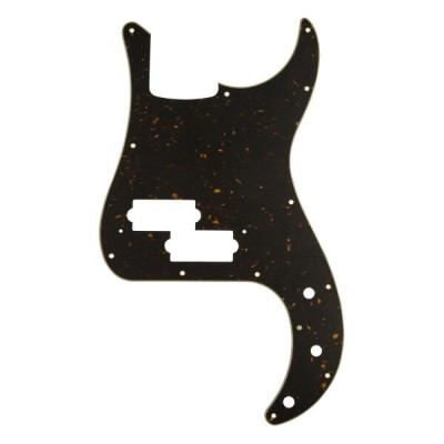 Fender Classic Precision Bass 13-Hole 4-Ply Mint Tortoise Shell Made in Japan Model Pickguard No...