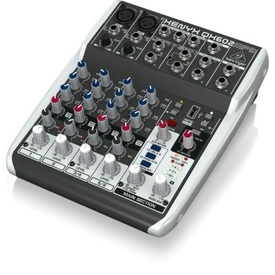 BEHRINGER QX602MP3 XENYX 6ch アナログミキサー