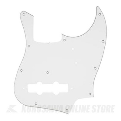 Fender Made In Japan Classic Jazz Bass 11-Hole 3-Ply White Pickguard Made in Japan Model (ピックガード...