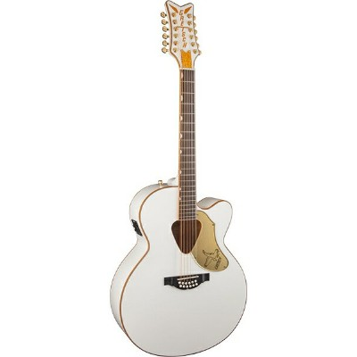 Gretsch G5022CWFE-12 Rancher Falcon Jumbo 12-String Cutaway Electric (White) 《エレアコ/12弦ギター》 【送料無料】...