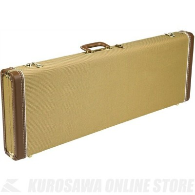 Fender G&G Deluxe Hardshell Cases - Stratocaster /Telecaster (Tweed with Red Poodle Plush Interior)...