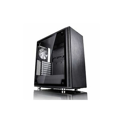 Fractal Design Fractal Design Define C Black, Tempered Glass(FD-CA-DEF-C-BK-TG) 取り寄せ商品