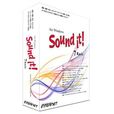 INTERNET Sound it! 7 Basic for Windows【Win版】(CD-ROM) SOUNDIT7BASICWINWC [SOUNDIT7BASICWINWC]