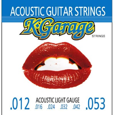 キクタニミュージック ギター弦 K-Garage STRINGS Acoustic ACOUSTIC012-053 [ACOUSTIC012053]