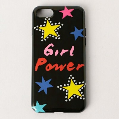 【IPHORIA/アイフォリア】 GIRL POWER iPhone Case (for iPhon/ノーリーズ レディース(NOLLEY'S)