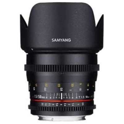 SAMYANG 50mm T1.5 VDSLR AS UMC フジフィルムX用