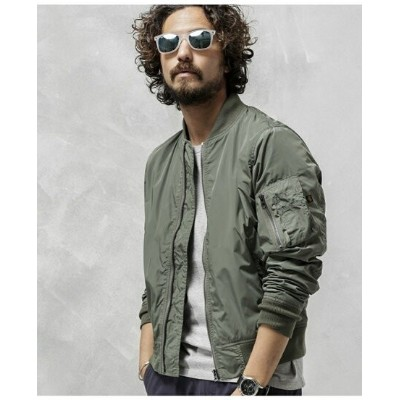 [Rakuten BRAND AVENUE]【SALE/40%OFF】別注BONDINGL-2B ALPHA INDUSTRIES ナノユニバース コート/ジャケット【RBA_S】【RBA_E】...