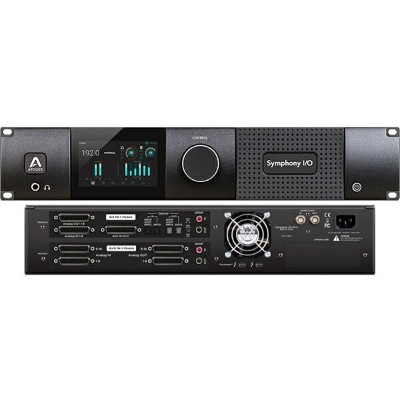 ●Apogee Symphony I/O MKII Thunderbolt Chassis with 16 Analog In + 16 Analog Out + 8 Analog In + 8...