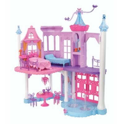 バービー バービー人形 ファンタジー 人魚 マーメイド Y6391 Barbie Mariposa and The Fairy Princess Castle Playset with Mini...