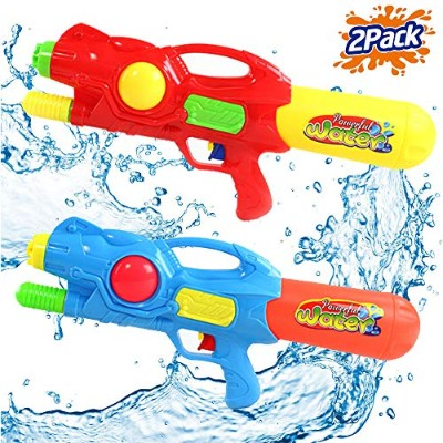 水鉄砲 ウォーターガン アメリカ直輸入 Liberty Imports 2 Pack Water Soaker Gun Super High Capacity Power Soaker...