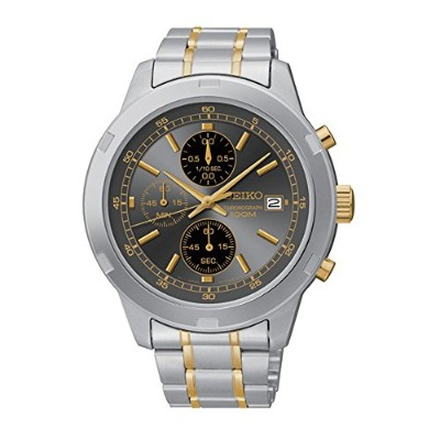 セイコー 腕時計 メンズ SKS425 Seiko Chronograph Silver and Gold-Tone Stainless Steel Men's watch #SKS425セイコー...