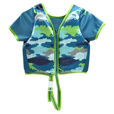 フロート プール 水遊び 浮き輪 ET9144ML SwimSchool Swim Trainer Vest, Sun Protective Sleeves, Adjustable Safety...