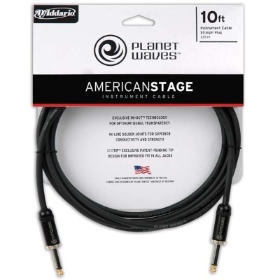 Planet Waves /PW-AMSG-30 30ft/9.14m Instrument Cable American Stage Series Instrument cables