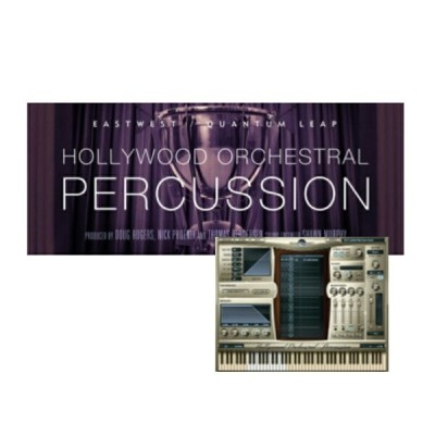 EASTWEST Hollywood Orchestral Percussion【Diamond Edtion】【HDD同梱版】※ライセンス発行は後日となります