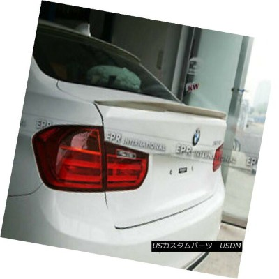 エアロパーツ ABC Rear Trunk Spoiler Wing Lip (Big) Protector Wings For BMW F30 P-Style FRP BMW F30 P...