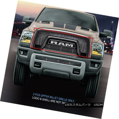 USグリル Fedar Fits 2015-2017 Dodge RAM Rebel 1500 Polished Billet Grille Insert Fedarフィット2015...