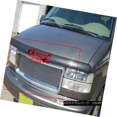 USグリル Fits 1995-2005 GMC Safari Van Main Upper Billet Grille Insert 1995-2005 GMC Safari Vanメインアッパービ...