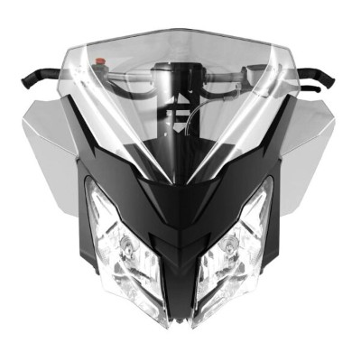 2020 ski-doo/スキードゥMEDIUM INJECTED WINDSHIELDAND SIDE DEFLECTOR KITREV-XM, REV-XS