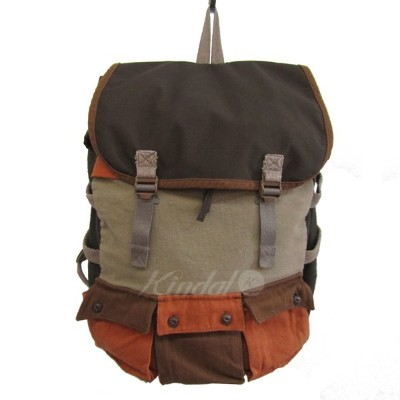 【中古】MASHCanvas Back Pack カーキ サイズ:-