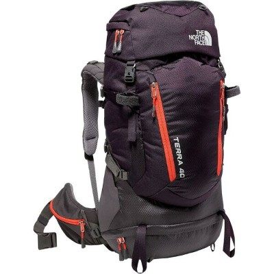 (取寄)ノースフェイス レディース テラ 40L バックパック The North Face Women Terra 40L Backpack Galaxy Purple/Fire Brick Red