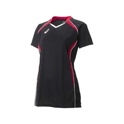 W'SゲームシャツHS【ASICS】アシックスVOLLEYBALL APPAREL GAME(XW1317)*27