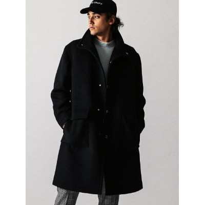 [Rakuten BRAND AVENUE]【SALE/50%OFF】【WEB限定】 by メルトン スタンド ロングコート BEAUTY & YOUTH UNITED ARROWS ビューティ...