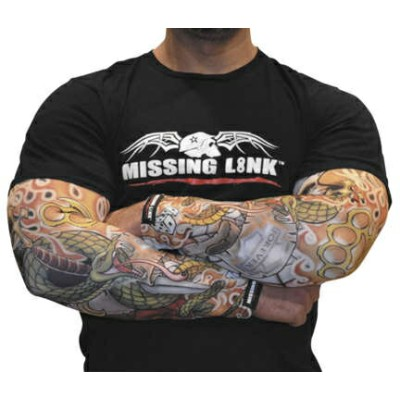【211412】 Armpro Compression Sleeves Forever Inked XS/S/M/L/XL ハーレーアパレル