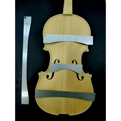 Back Arch Template 4piece set Guarneri 1734 Violin Back