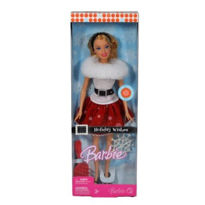 Holiday Wishes Barbie バービー Doll 人形 ドール
