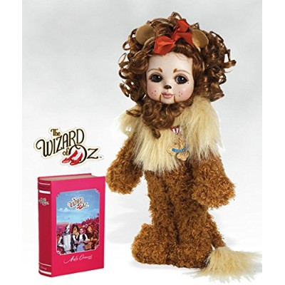 "Marie Osmond Doll Adora アドラ Belle - Cowardly Lion, The Wizard Of Oz, 12"" Porcelain ドール 人形"
