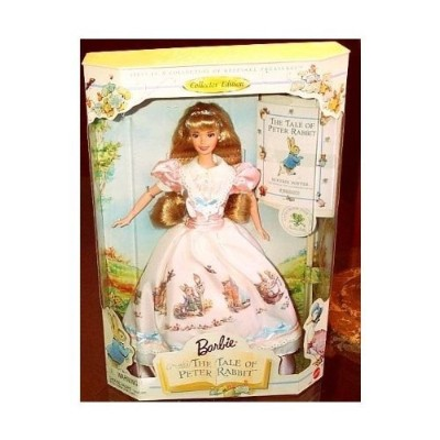 "Barbie バービー and The Tale of Peter Rabbit 12"" Doll and Story Booklet 人形 ドール"