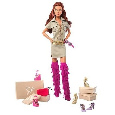 Dolly Forever Barbie バービーR Doll By Christian Louboutin 人形 ドール