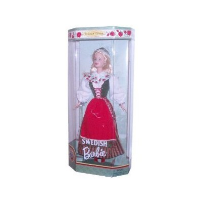 Barbie Year 1999 Collector Edition Dolls of the World 20th Anniversary 12 Inch Doll - Swedish Barb