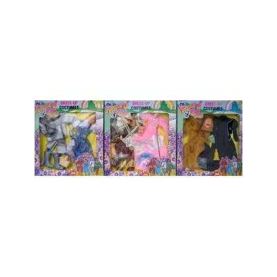 "Wizard of Oz Dress Up Costumes Fits Barbie & 11.5"" Fashion Dolls - Complete SET of 6 Costumes (3 B"