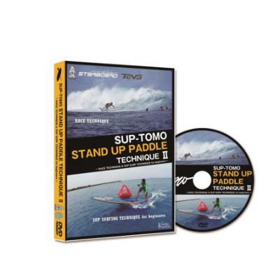 SUP パドルテクニック2 HOW TO DVDSUP-TOMO STAND UP PADDLE TECHNIQUE2 RACE TECHNIQUE & SUP SURF TECHNIQUE for...