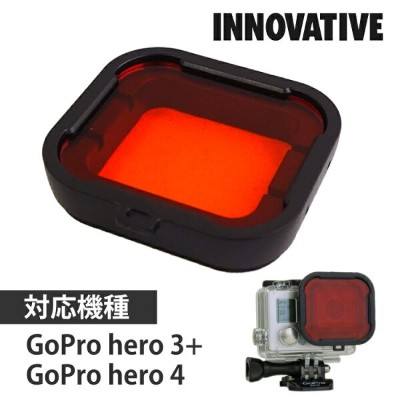 Camera Filters RED for GoPro