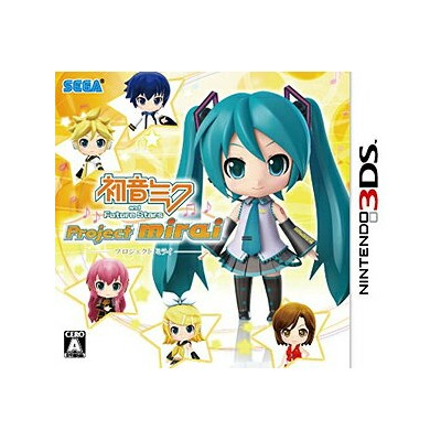 【中古】初音ミク and Future Stars Project mirai 通常版 3DS CTR-P-AM9J/ 中古 ゲーム