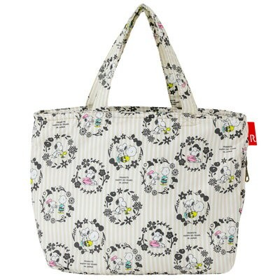 PEANUTS×ROOTOTE サーモキーパー ランチバッグ (Flower)スヌーピー 大人 向け グッズ