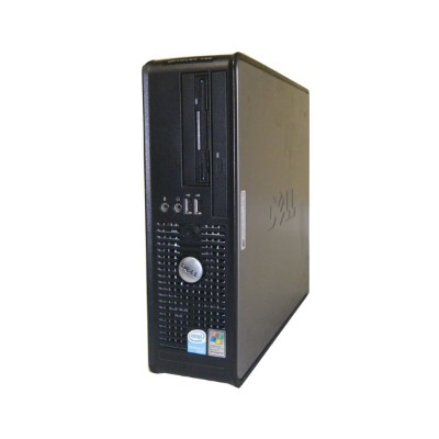 OSなし DELL OPTIPLEX 755 SFFCeleron 430 1.8GHz/1GB/80GB/DVDコンボ