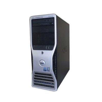 中古ワークステーション WindowsXP DELL PRECISION T3400 Core2Duo E6750 2.66GHz/4GB/146GB/FX570