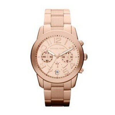 マイケルコース Michael Kors メンズ 腕時計 時計 Michael Kors Rose Gold-Tone Mercer Watch
