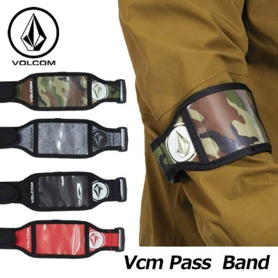 18-19 volcom ボルコム パスケース 【Vcm Pass Band 】JapanLimited J67519JH