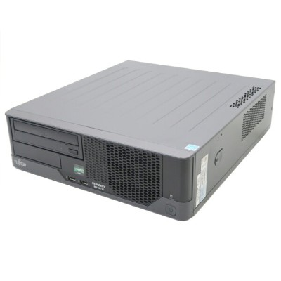 富士通 PRIMERGY MX130 S1 AthlonII X2 220 2.8GHz 4GB 500GBx2台(SATA3.5インチ/RAID1構成) DVD-ROM RAID 【中古】...