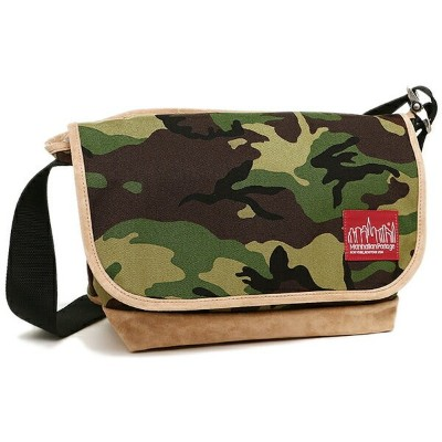 マンハッタンポーテージ ショルダーバック MANHATTAN PORTAGE MP1606VJRSD13 W.CAMO SUEDE FABRIC VINTAGE MESSENGER BAG-M