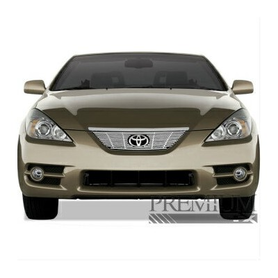 トヨタ Solara グリル Premium FX 1pc Chrome Top Billet Grille Insert for 2007-2008 Toyota Solara プレミアムFX...