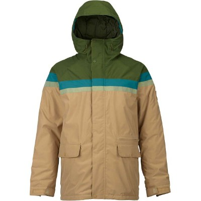 BURTON Docket Jacket Rifle Green / Jasper / Olive Branch Distress / Kelp 2018FW