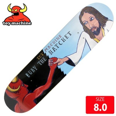 TOYMACHINE トイマシーン デッキ BURY THE HATCHET DECK 8.0 TMD-160 スケートボード skateboard